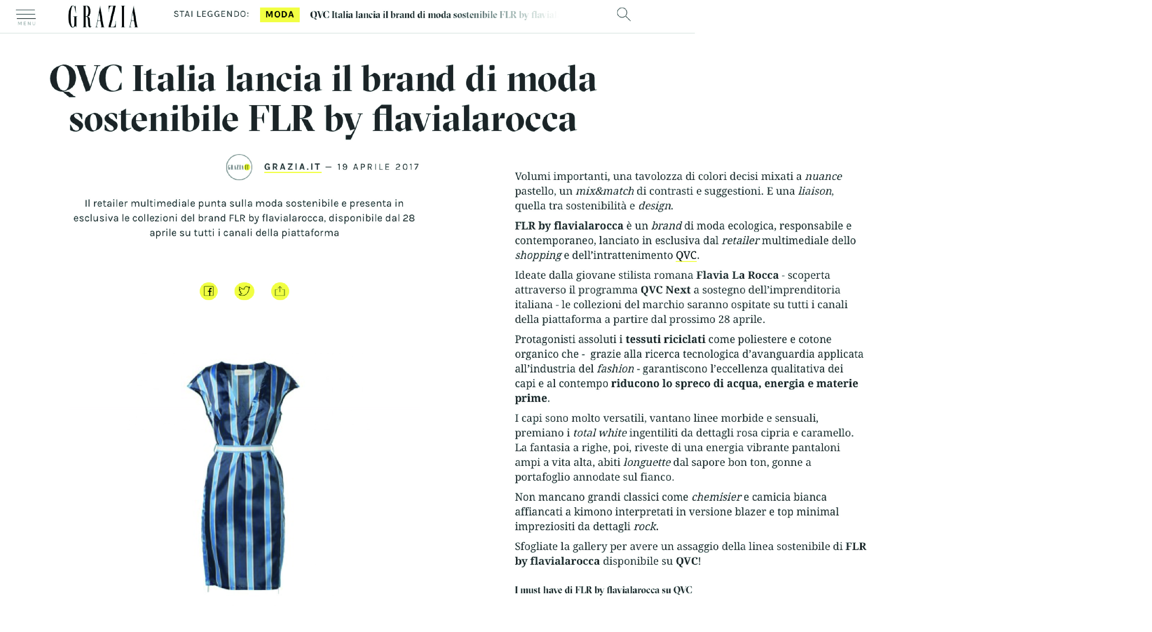 FLR by flavialarocca on Grazia.it