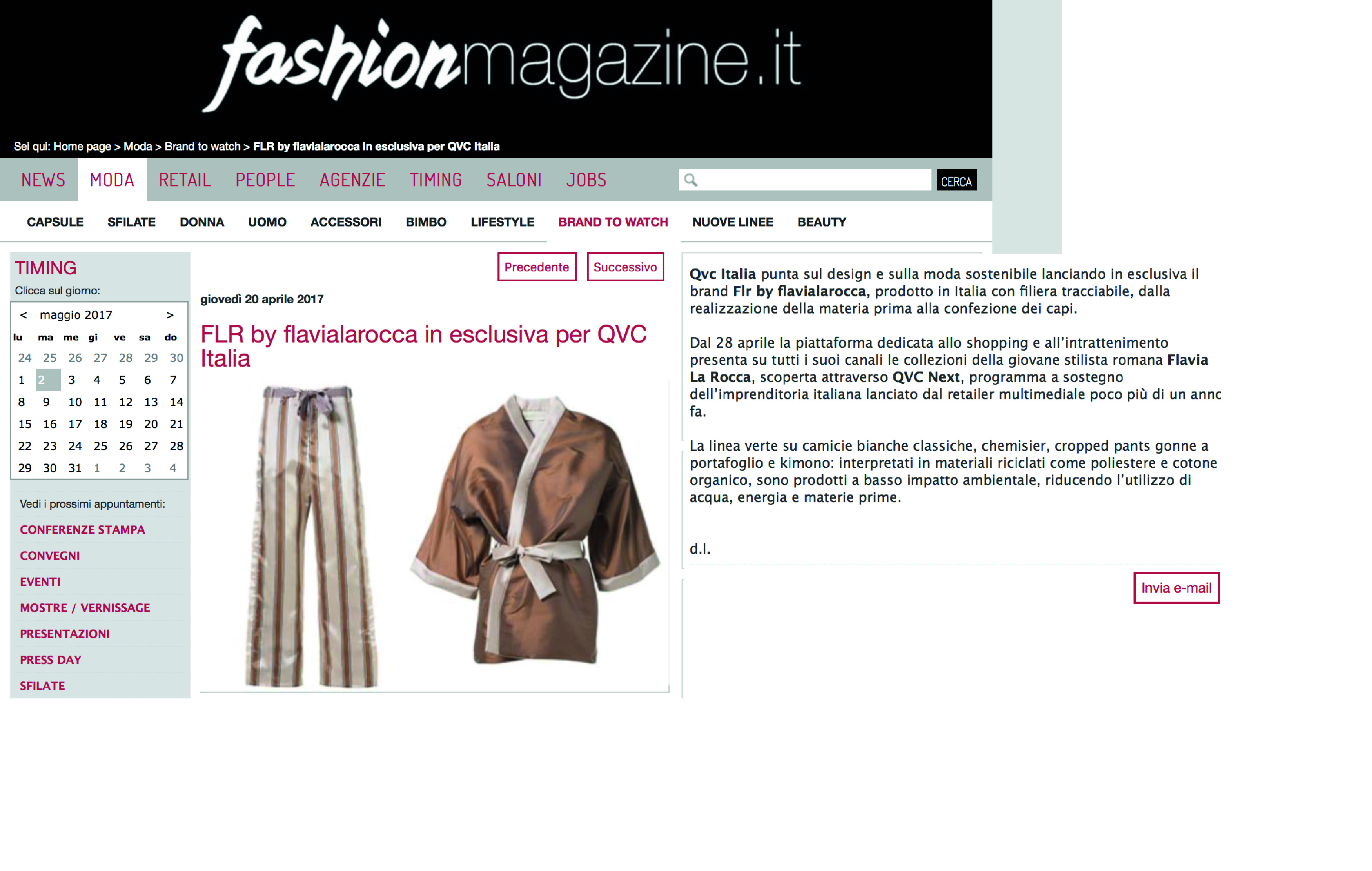 FLR by flavialarocca on FashionMagazine.it