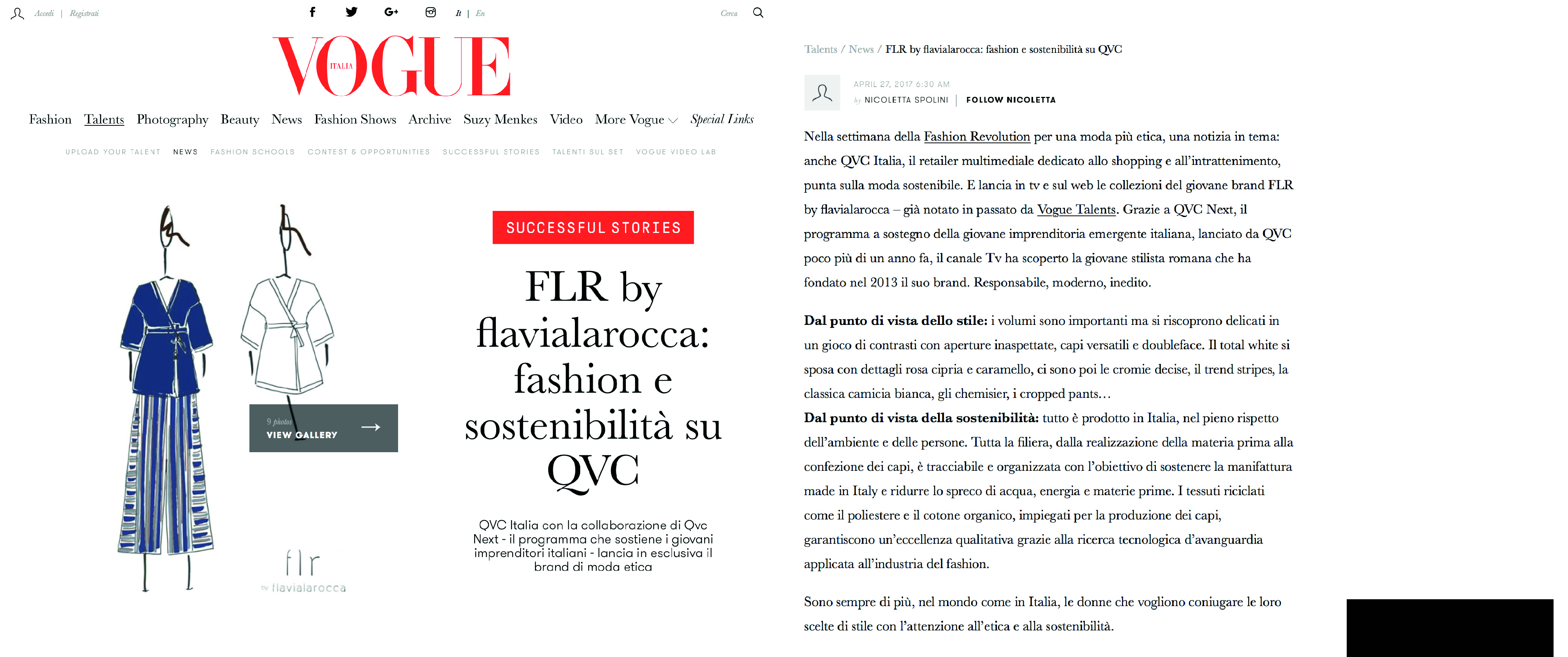 FLR by flavialarocca on vogue.it
